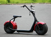 Wholesale Walking Scooter - Customized Citycoco Electric Scooter Two Wheels Ride On Instead Of Walking 60V12AH Li-ion Battery Colorful