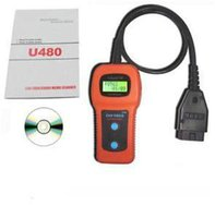 U480 OBD2 OBDII CAN LCD Camion de voiture Auto Diagnostic Engine Scanner Free DHL Car-Care Fault Code Reader Scan Tool