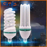 Superbright E27 Lâmpadas LED Lâmpada de alta qualidade 3W 5W 7W 9W 16W 24W 32W Espiral / U Shape LED Corn Light Nightlight Bulbs