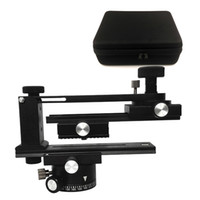 Wholesale Tripod Slider Rail - 2016 Latest Version IV FOTOMATE Pro Panoramic Kit Tripod Head Gimbal Bracket Plate Rail Slider 360 Degree Rotated Four Different Angles
