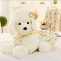 Wholesale Plush Shepherd - New Arrival Plush Toy poodle princess Papa embroidered dog Shepherd Valentine children toy Christmas gifts for children