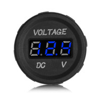 DC 12V 24V LED Display Car Digital Voltmeter Tension électrique Moniteur Socket pour automobile Accessoires moto
