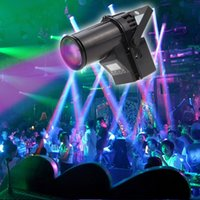 Wholesale Dmx Led Strobe - 2017 NEW 10W RGBW Cree lamp 4in1 LED Pinspot Light DMX 512 control LED Rain stage light KTV DJ Club Party light Decor Lighting Black MYY