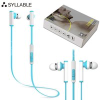 Wholesale Blutooth Phones - Original Syllable D300 Wireless 4.1 Blutooth Earphone In Ear Headphone Sports Running Headset For iphone Samsung Smart Phone Free Shipping