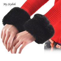 Atacado- Mulheres Warm Winter Gloves Sleeves Watermelon Black Stylish Nov 18