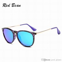 Wholesale Online Frame - New Popular Fashion Sunglasses Man Woman Eyewear Designer Branded Round Cool Sun Glasses Matt Leopard Gradient UV400 Matte Black Online Sale