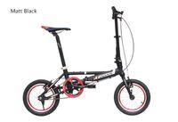 Wholesale Cheap Aluminum Bikes - Cheap shipping single Speeds 14 inches Folding Bike, Folding bicycle , Aluminum Alloy Body, Both Disc Brakes Ally Fork