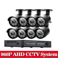 Система видеонаблюдения CCTV 8CH 1080P DVR Kit с 8 SONY 960P 2500TVL 1.3MP HD Night Vision Outdoor Security Camera System
