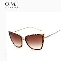 Wholesale Designer Sunglasses Ray Brand - Top Quality 2017 Hot Rays Sunglass Women Vintage Oversized Cat Eye Designer Female Superstar Sunglasses Oculos De Sol Brand STY9038