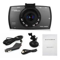 "Wholesale Hd One - 2.7"" HD display dash cam dashcam camera Car DVR Novatek PZ906 G30 Motion detection One-key lock Cycle recording G-Sensor IR lights dhl"