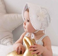Sweet Lovely Cute Princess Kids Kids Girls Baby Hat Beanie Pink Новые кружевные цветочные крышки SUY