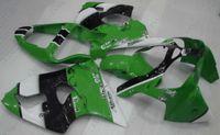 Wholesale Kawasaki 636 Plastics - Motorcycle Fairing for Kawasaki ZX6r 00 GREEN Fairing Ninja ZX-6r 2002 Plastic Fairings 636 ZX-6r 2000 2000 - 2002