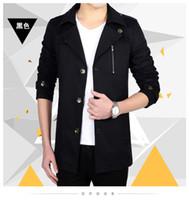 Wholesale Cool Jackets Cheap - Wholesale- Alieepress china cheap wholesale size M-5XL 2017 spring autumn new Youth pop city men slim fashion casual cool big size jacket