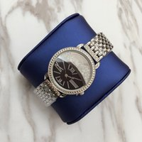 Wholesale Imitation Designer Watches - Luxury 2017 Famous designer women rhinestone watches fashion luxury Dress ladies watch Imitation Conch Dial fashion VS Watches wholesale