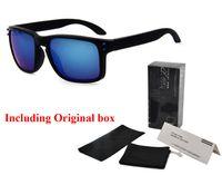Wholesale Mens Luxury Frames - Riding holbrook sunglasses Men women luxury Brand V46 sun glasses uv400 Sport Sun glasses mens sunglass oculos de sol with original box