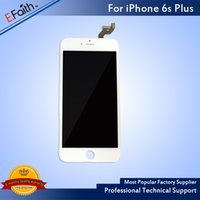 Para el iPhone blanco 6S Plus Grado A +++ Pantalla LCD táctil con 3D Touch Assembly Replacement Part Envío gratis