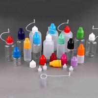 Wholesale Drip Needle - PE Needle Bottle Plastic Empty Liquid Dorpper Drip Bottles 5ml 10ml 15ml 20ml 30ml 50ml for eGo Series E Liquid Juice E Cig