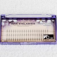 Wholesale Eyelash Extension Single - 5D + Pteris False Eyelashes 8-13mm Individual Lashes Feather Plastic Cotton Stalk Single Cluster Planting False Eyelashes Extensions