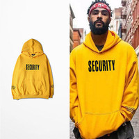 Wholesale Women S Sweatshirts Wholesale - Wholesale- justin bieber fear of god Purpose Tour yellow men woman hoodies 2016 Spring New long sleeve man lovers hooded sweatshirt S-3XL