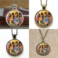 Wholesale Photo Beatles - 10pcs The Beatles vision3 Glass Photo Necklace keyring bookmark cufflink earring bracelet