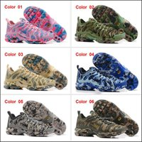 Wholesale Womens Athletic Shoes Cheap - Cheap Best Running Shoes For Men Women Camouflage Mens Womens Air Plus Tn Ultra Shoes Trainers Sneakers Jogging Tennis Athletic Shoes