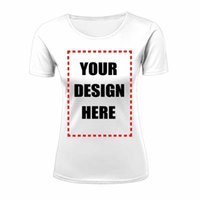 Wholesale Womens Cheap Printed T Shirts - Wholesale Womens T-Shirt Short Sleeve Cheap Custom 3D text font image coloring Customize All-over Front Back Print Plus Size XS-XXL Top Tee