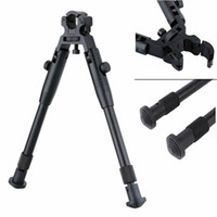 Wholesale Hunting Gun Swivels - Adjustable 6'' Tactical Hunting Rifle Picatinny Swivel Stud Mount Bipod for Gun