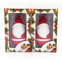Wholesale Hot New Bluetooth Speaker - New Hot Sell Portable mini wireless bluetooth Santa Claus Christmas Father tumbler roly-poly speaker Christmas Speaker for christmas 10pcs
