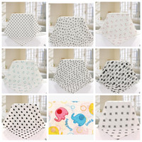 Wholesale Giraffe Sheets - Baby Blankets Towel Swaddling Soft Wrap Ins Newborn tent The giraffe Printed Bedding Sheet Swaddle Toddler Nursery Bathing Towel KKA1943