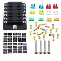 ambuker 10 way rv blade fuse box truck marine cheap fuse box terminals free shipping fuse box terminals under Camper Fuse Panel at n-0.co