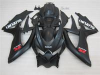 Wholesale Motorcycle Fairings For Suzuki - 3 gift New Hot ABS motorcycle Fairing kits 100% Fit For SUZUKI GSXR 600 750 K8 2008 2009 GSXR600 GSXR750 08 09 R600 R750 Black