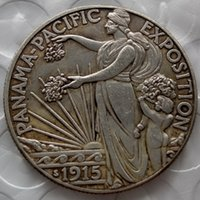 Wholesale Commemorative Coin Gift - 1915-S Panama Pacific Commemorative Half Dollar Copy Coin