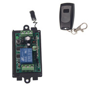 Wholesale Waterproof 12v Remote Control Switch - DC 9V 12V 24V 1 CH 1CH RF Wireless Remote Control Switch System,315 433 MHZ WaterProof Transmitter + Receiver