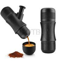 Wholesale Plastic Coffee Makers - Creative Manual Mini Portable Espresso Coffee Machine Manual Coffee Maker Hand Pressure Portable Espresso Machine #4250