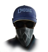 Wholesale Wholesale Hats Watch - Wholesale- 2016 New Watch Dogs 2 Aiden Pearce Iconic Cosplay Cap Hat Video Game WATCHDOGS Adjustable Baseball Caps