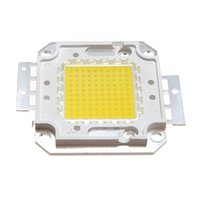Wholesale High Power Led Chips - 2017 New High Power 10W 20W 30W 50W 70W 80W 100W Super Bright COB Spot LED Lamp Chips Light Bulb White Warm White 2 Colors