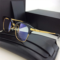 Wholesale H Frame - Brand Designer Mosby h 2017 Vintage Half Sunglasses Frame-V Women and Men Eyewear High Quality Fashion Sunglasses Frame with Original cases