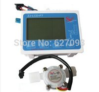 "Wholesale Digital Counter Sensor - Wholesale- G1 2"" water Flow meter Counter flow Sensors + Digital LCD Filter manager Meter Gauge Free shipping"