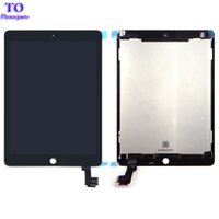 ingrosso digitalizzatore lcd aria ipad-Schermo LCD nuovo A1567 A1566 Air 2 iPad Assemblea LCD Assembly per iPad 6 Screen Display Digitizer Assembly Nero Bianco