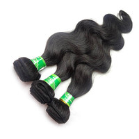 Wholesale Processed Weave Remy - Best Quality Brazilian Body Wave Human Hair Weaves Remy Brazilian Virgin Human Hair 3 bundles lot 100% Human Hair Extensions