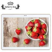 android tablette gps unterstützung großhandel-Großhandel 10,1 Zoll Tablet PC Octa Core Ram 4 GB Rom 32 GB Android 5.1 Anruf Tablet PC Unterstützung WCDMA / WiFi / GPS
