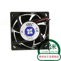 Wholesale 6cm Sinking - JMC 6025 6025-12MB 0.16A 6CM 2 wire dual ball heat sink fan