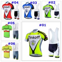 Wholesale Tinkoff Suit - 2017 new SAXO BANK tinkoff Bisiklet team sport suit bike maillot ropa ciclismo cycling jersey Bicycle MTB bicicleta clothing set