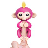 Wholesale Blue Monkey Cartoons - new arrival finger monkey Electronic smart touch finger toys fingelings Interactive Baby Monkey funny toys ABS+PVC