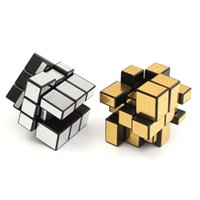 Wholesale Puzzle Iq Test - New 3x3x3 Mirror Magic Speed Cube Ultra-smooth Professional Puzzle Twist Toy Gift Magic Cube Brain Teaser IQ Test Toys
