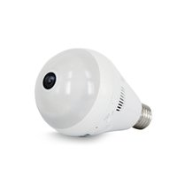 Wholesale Camera Fisheye For Android - EC18D-I6 Bulb Light Wireless IP Camera 960P 360 Degree Fisheye Panoramic VR Camera Home Security WiFi Camera for IOS Android Ann