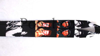Wholesale Elvis Wholesale - 20 century superstar Elvis Presley 50pcs Mobile Phone lanyard Neck Strap Dark. Free shipping