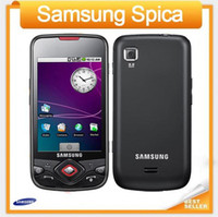 samsung 3g teléfono inteligente al por mayor-I5700 Samsung I5700 Galaxy Spica original desbloqueado teléfonos celulares 3G WIFI GPS Android Smartphone restaurado