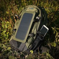Wholesale Backpack Solar Panel - IP67 Waterproof Nylon 35L 6.5W Cycling Climbing Hiking Travel Solar Power Backpack with Solar Panel Bottle Bag