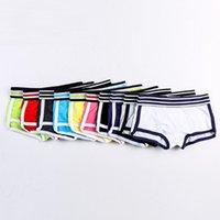 Wholesale Xl Boyshort Panties - 10 Colors M-XXL Plus size Fashion Designer Women Cotton Underwear Candy Color Ladies Low Waist Women Panties Ladies Boyshort Intimate